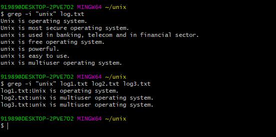 grep command example