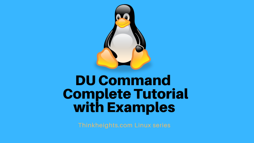 DU Command Complete Tutorial