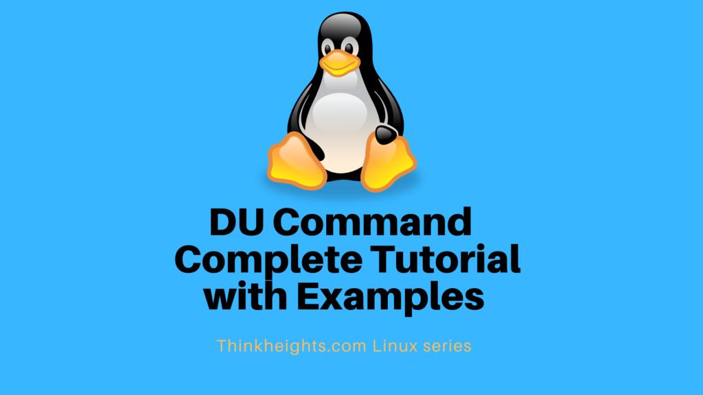 DU Command Complete Tutorial