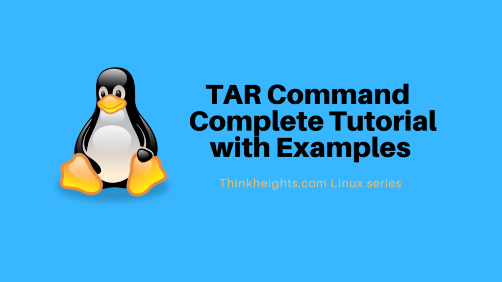 Tar Command Complete Tutorial